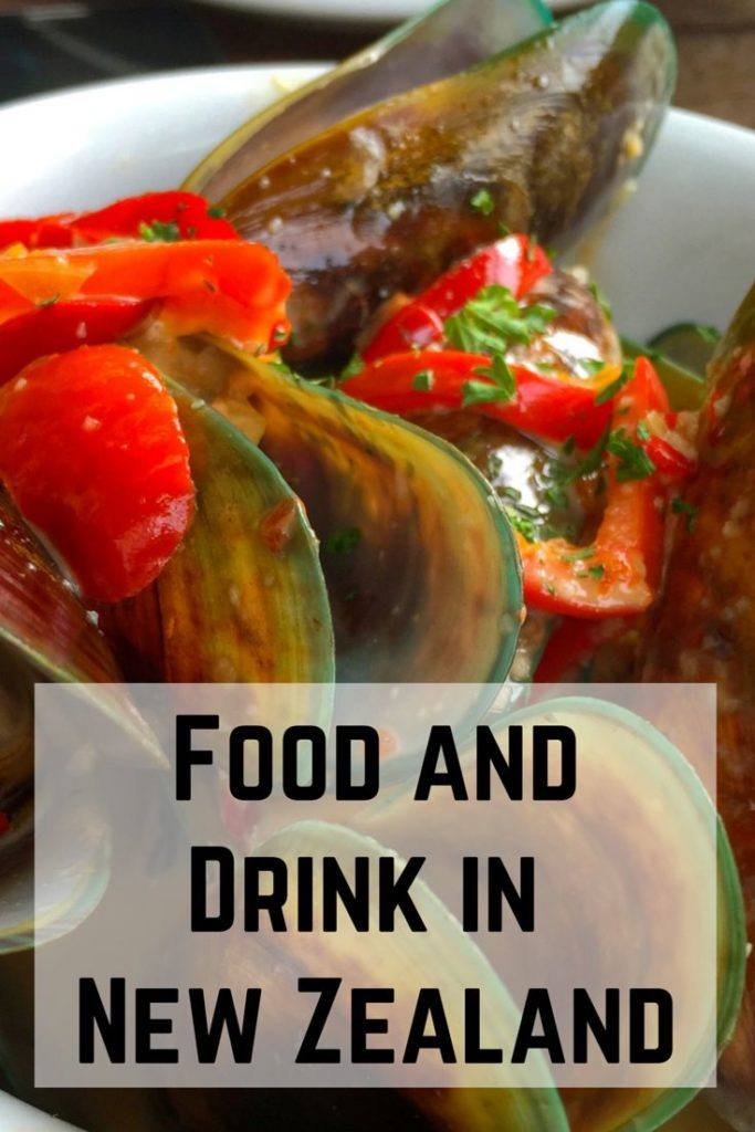 Things to eat and drink in New Zealand