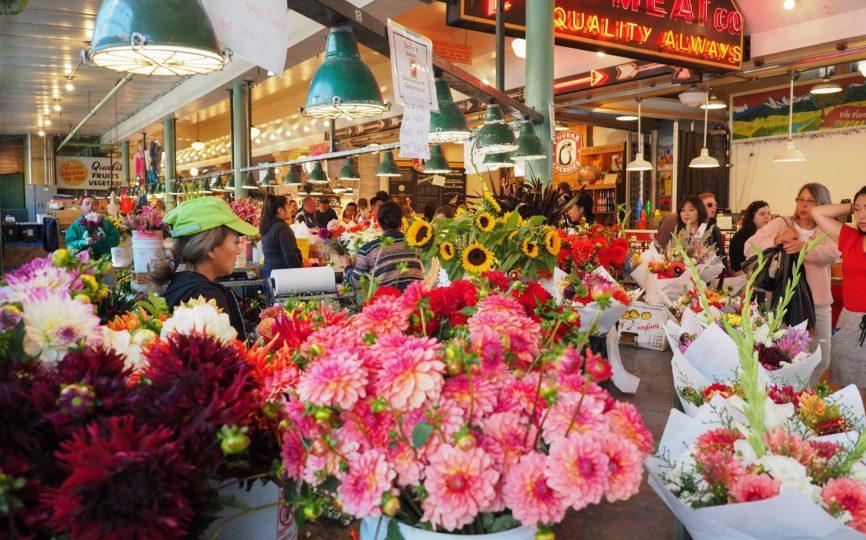 Travel Scene – Pike Place Market