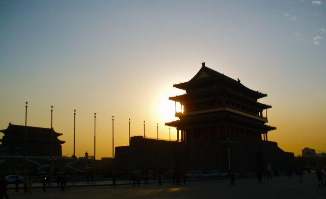 Beijing drum tower, China