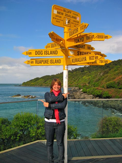 Stirling Point, Bluff, New Zealand, International Sign Post