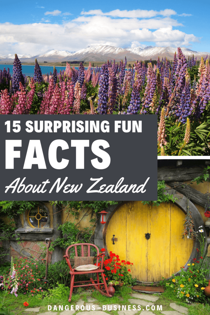 15 fun facts about New Zealand