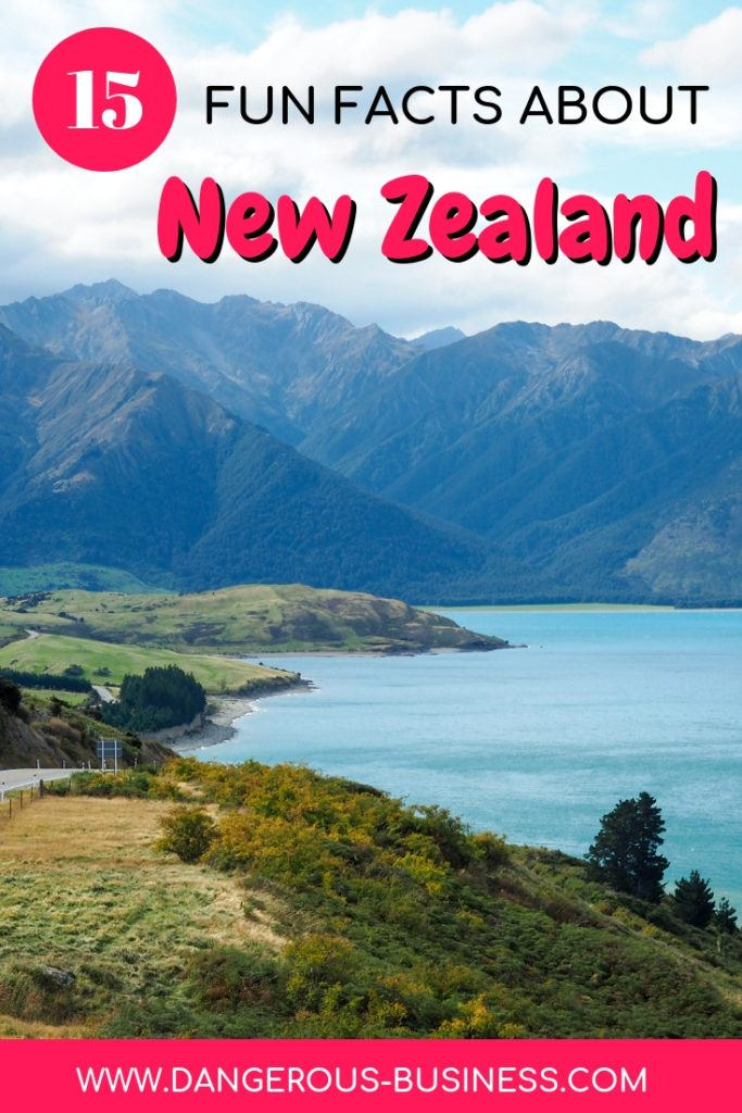 New Zealand fun facts