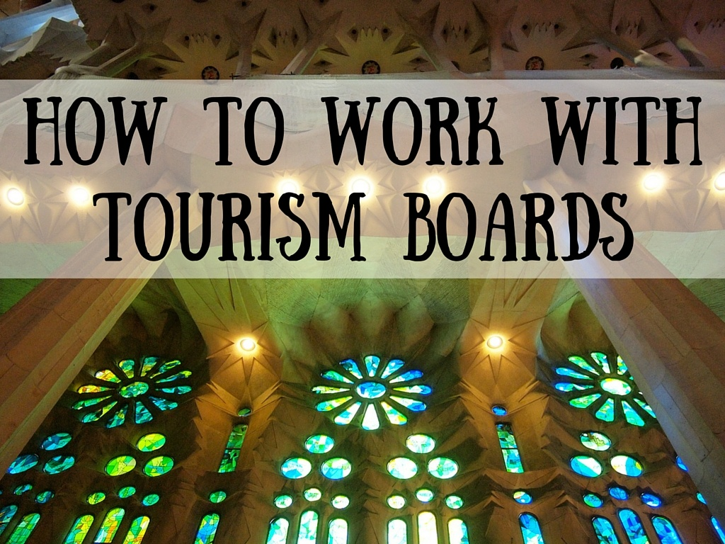 Working with tourism boards
