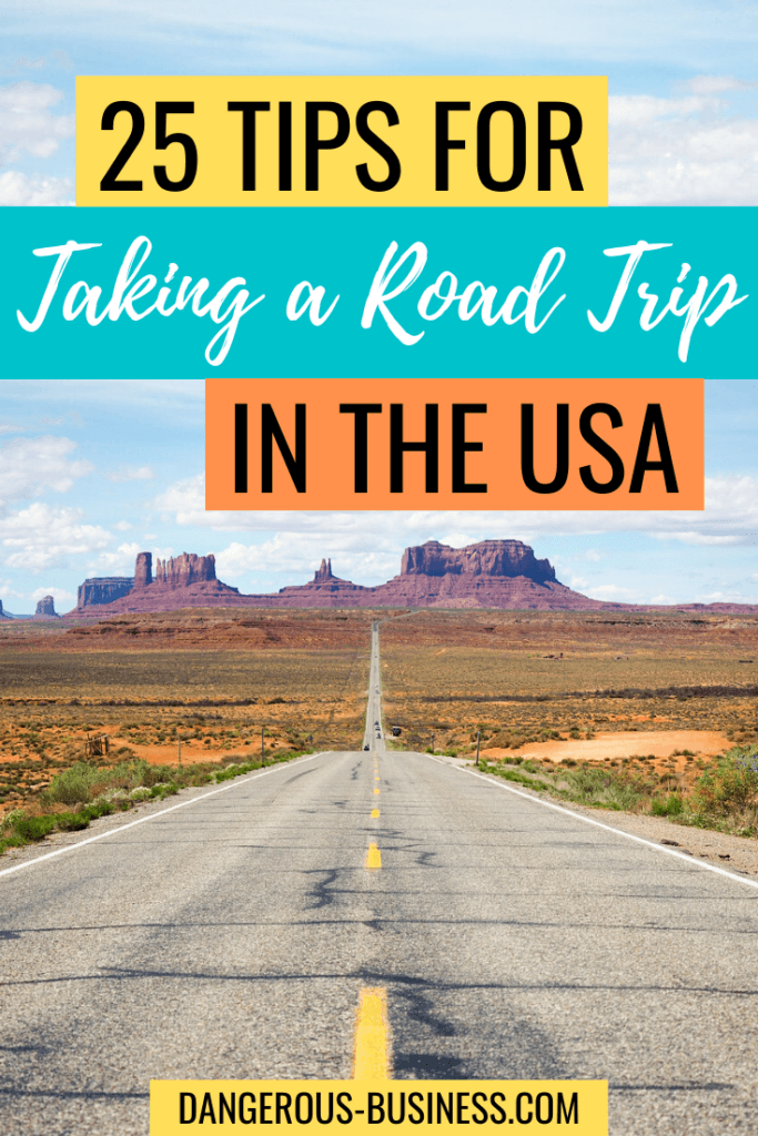 25 tips for taking a USA road trip