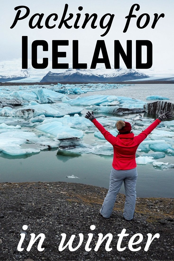 Packing for Iceland in Winter