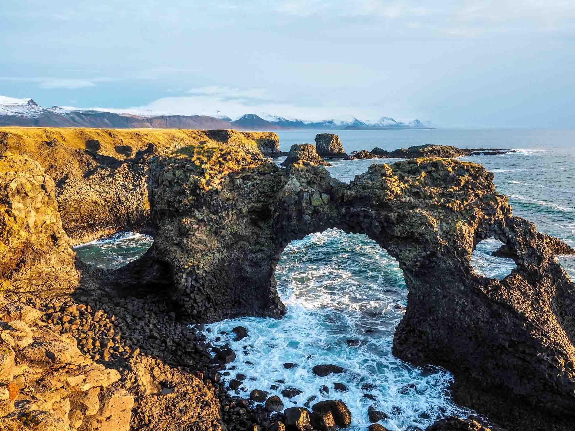 Iceland sea arch