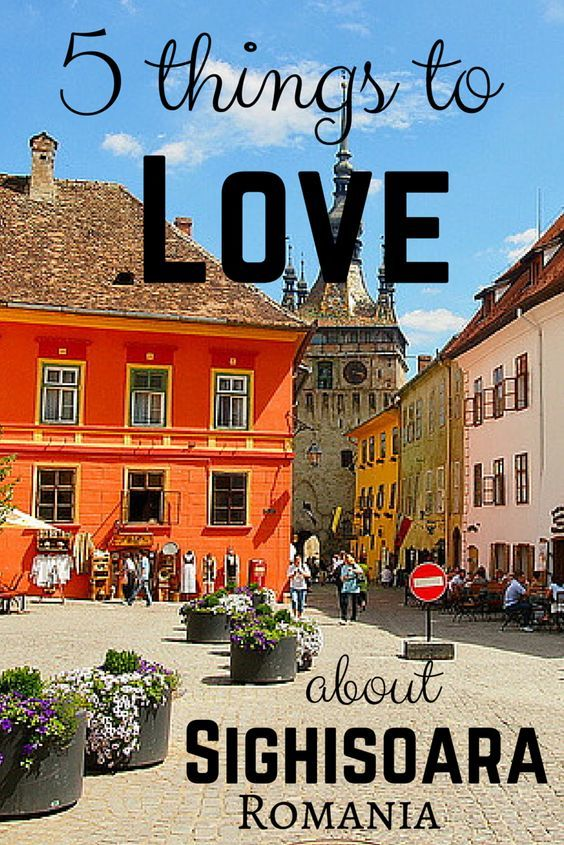 5 reasons to visit Sighisoara, Romania