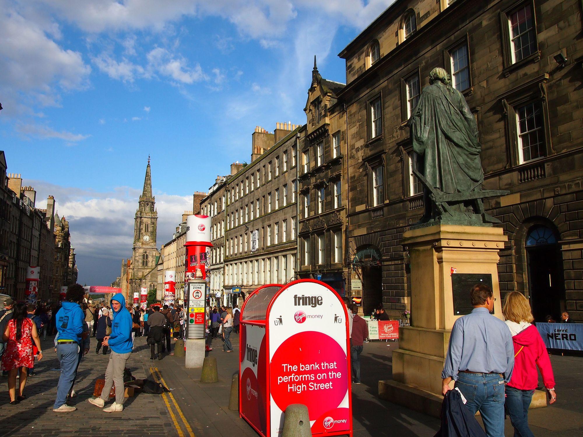 Edinburgh, Scotland during the Fringe Festival