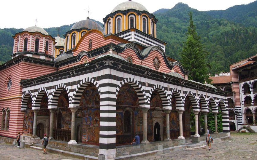 Visiting Rila Monastery in Bulgaria