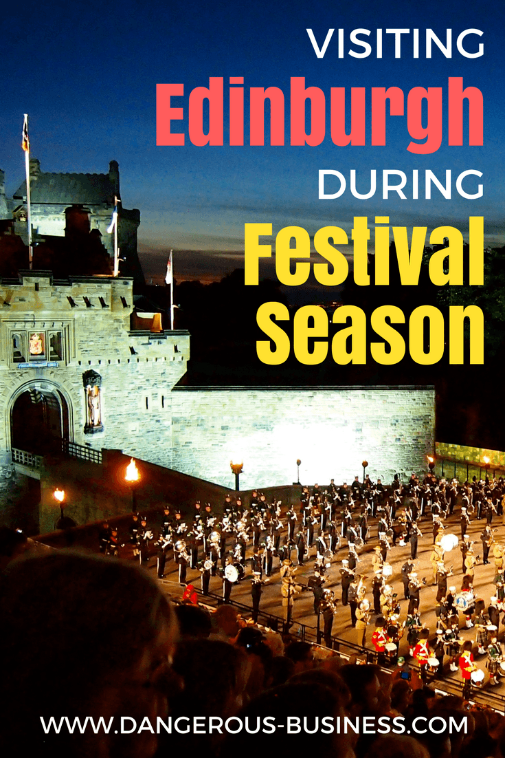 Visiting Edinburgh, Scotland during Festival season | Edinburgh Festival tips