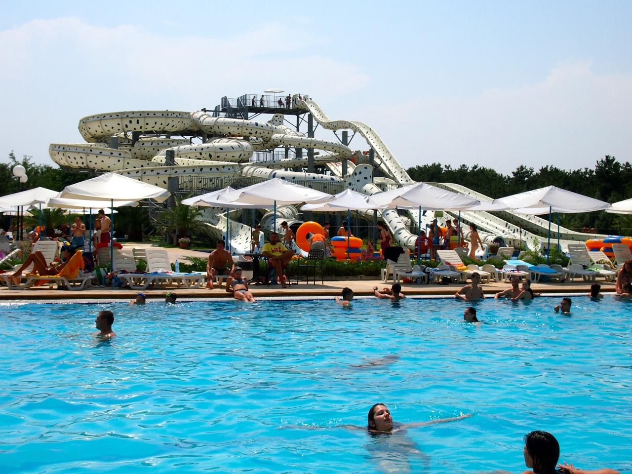 Aqua Park in Bulgaria