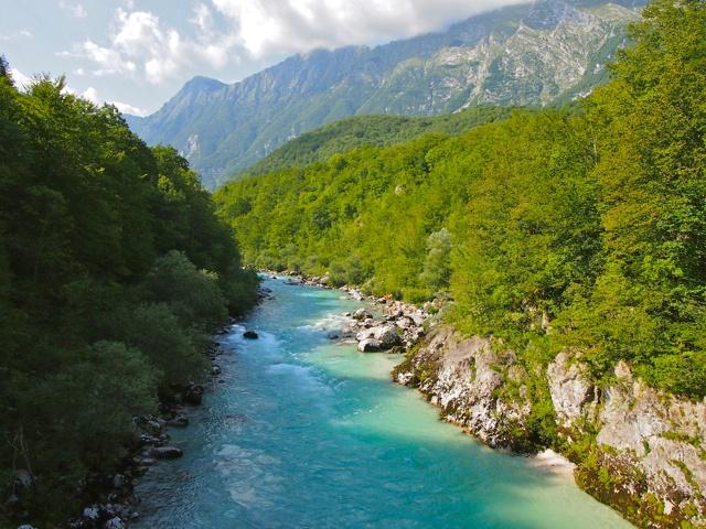 The Emerald River Adventure In Slovenia