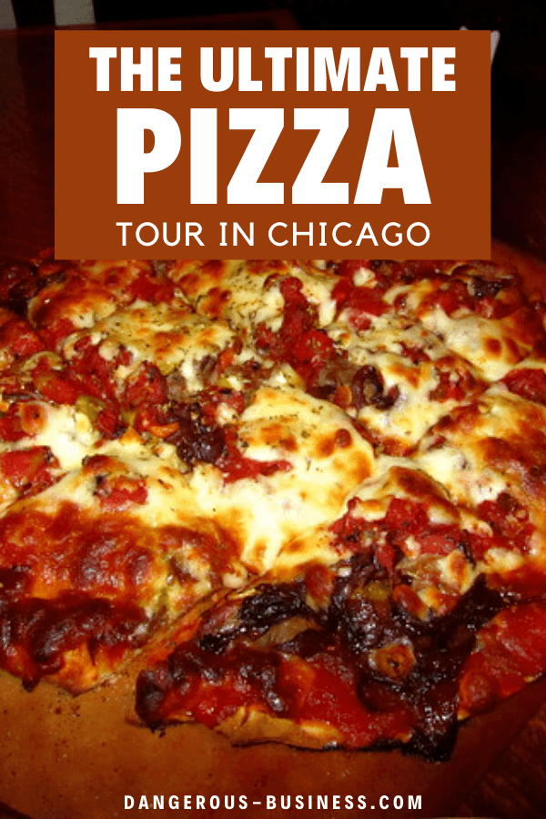 Taking a pizza tour in Chicago