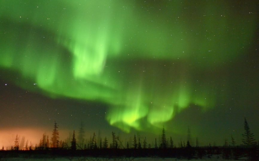 A Dance of Lights: Awed by the Aurora Borealis