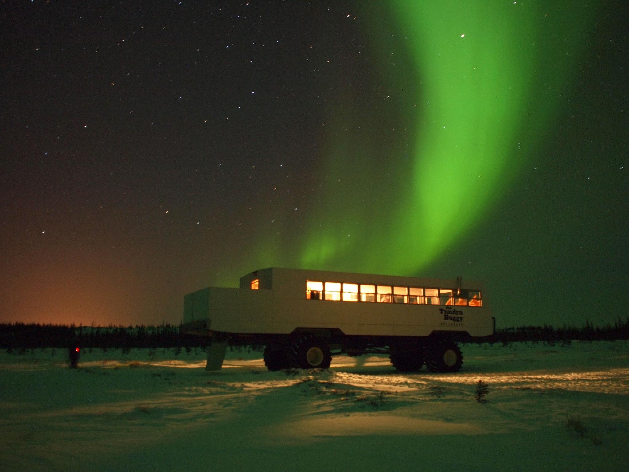 Northern Lights in Churchill, Manitoba