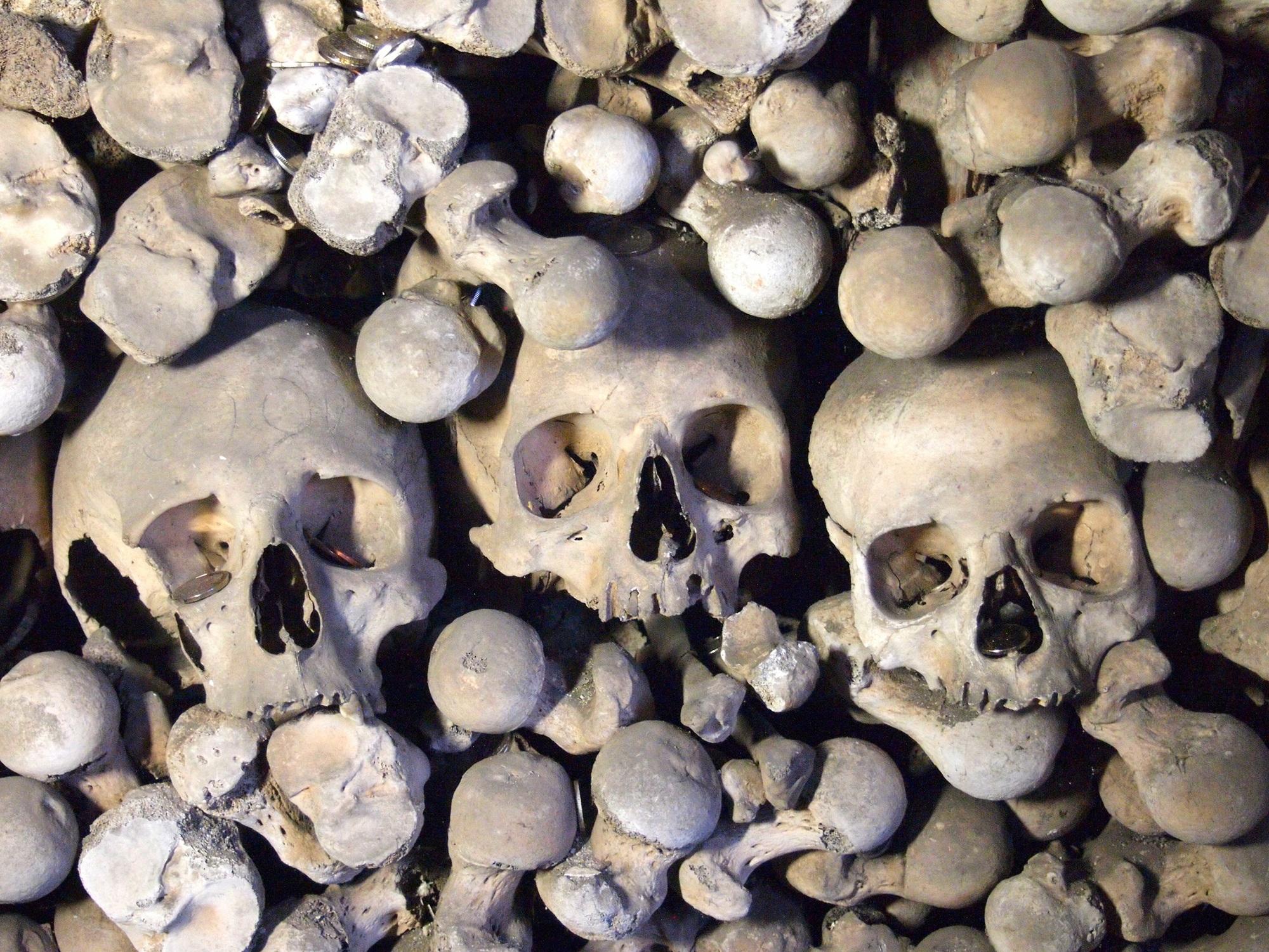 Sedlec Ossuary (Bone Church) in Kutna Hora