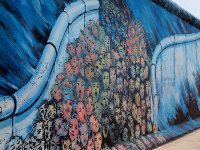 The Berlin Wall: Then and Now