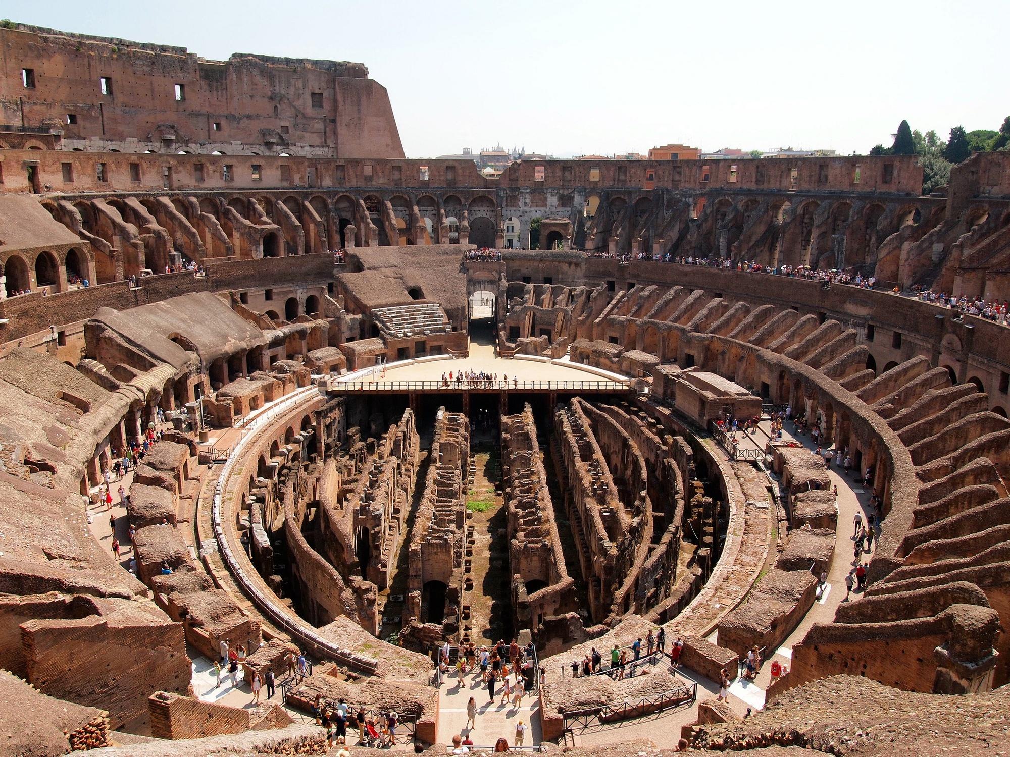 Touring the Roman Colosseum