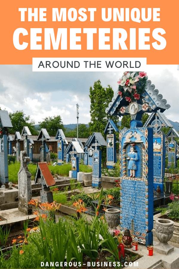 Unique cemeteries around the world