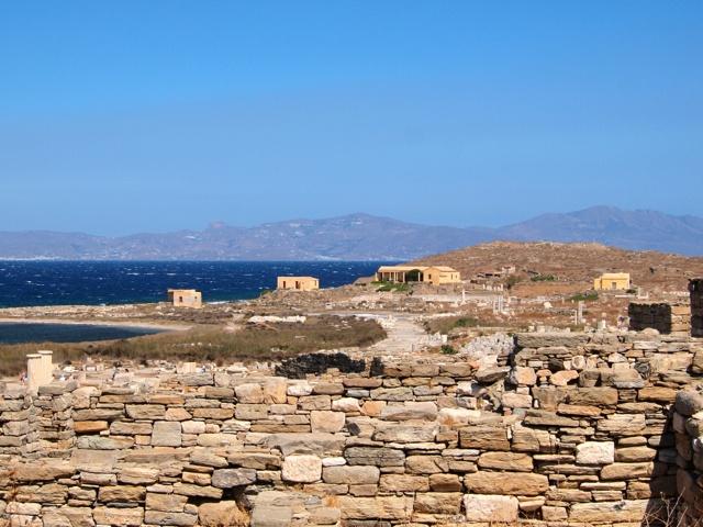 Historical island of Delos