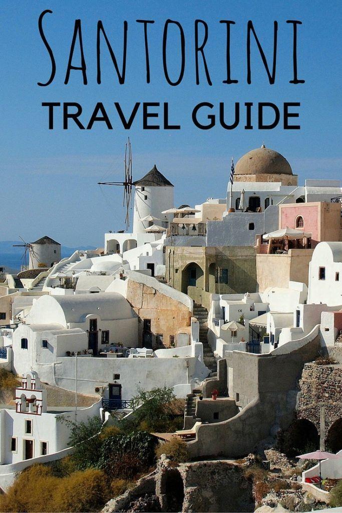 the greek islands  santorini travel guide