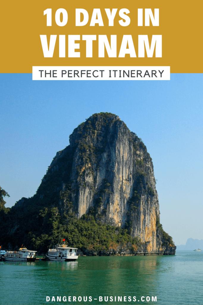10 days in Vietnam tour itinerary