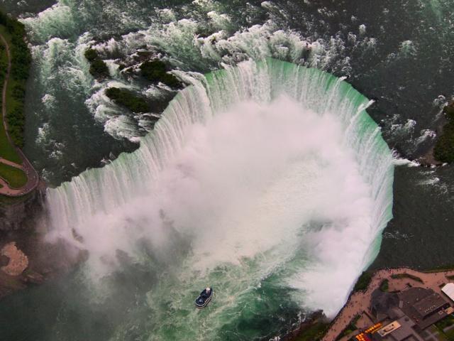 Flying High Over Niagara Falls
