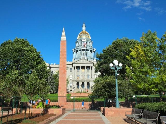 Colorado State Capitol in Denver
