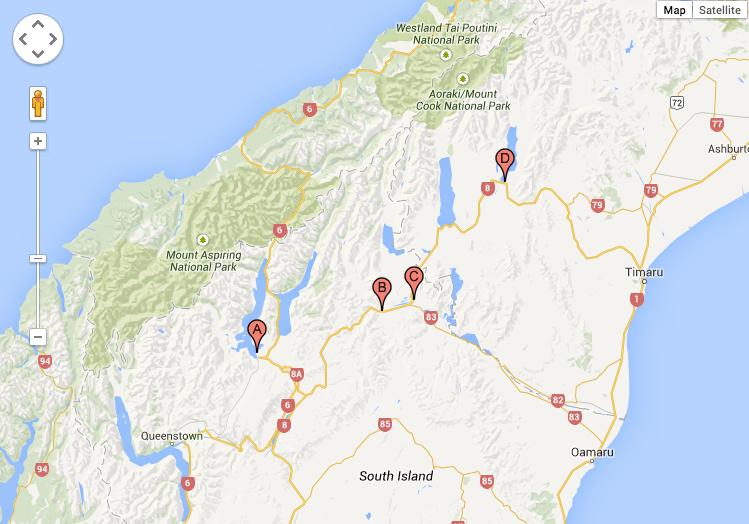 NZ lupin map