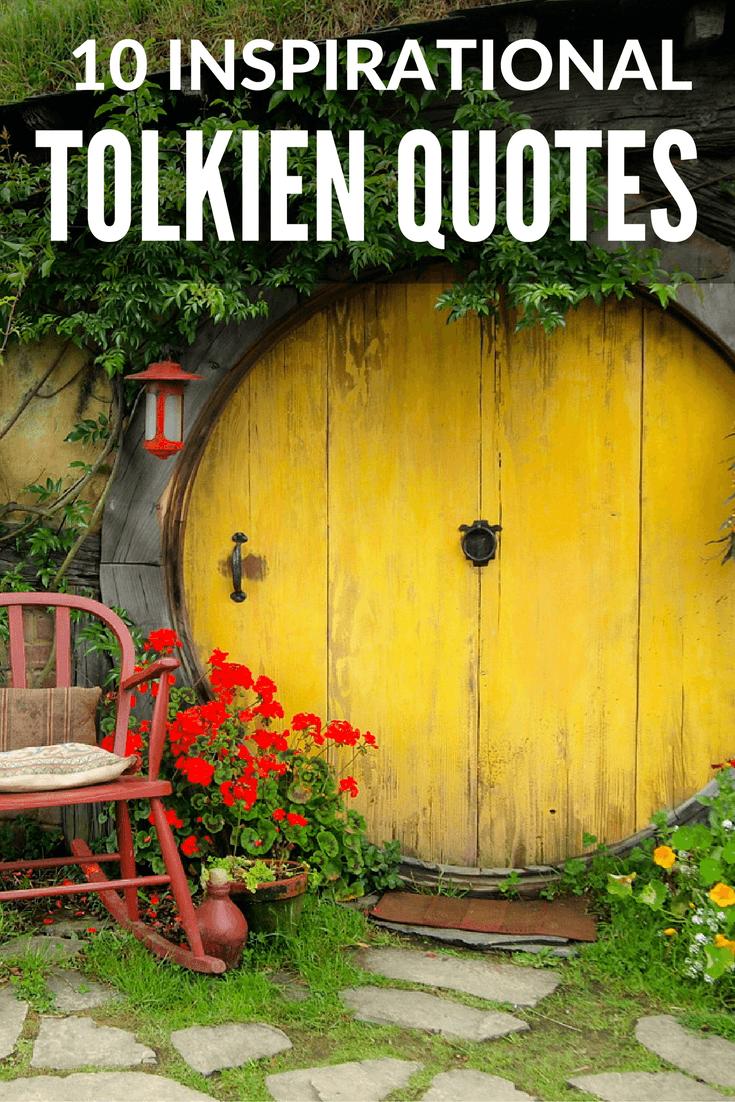 Inspiring JRR Tolkien quotes