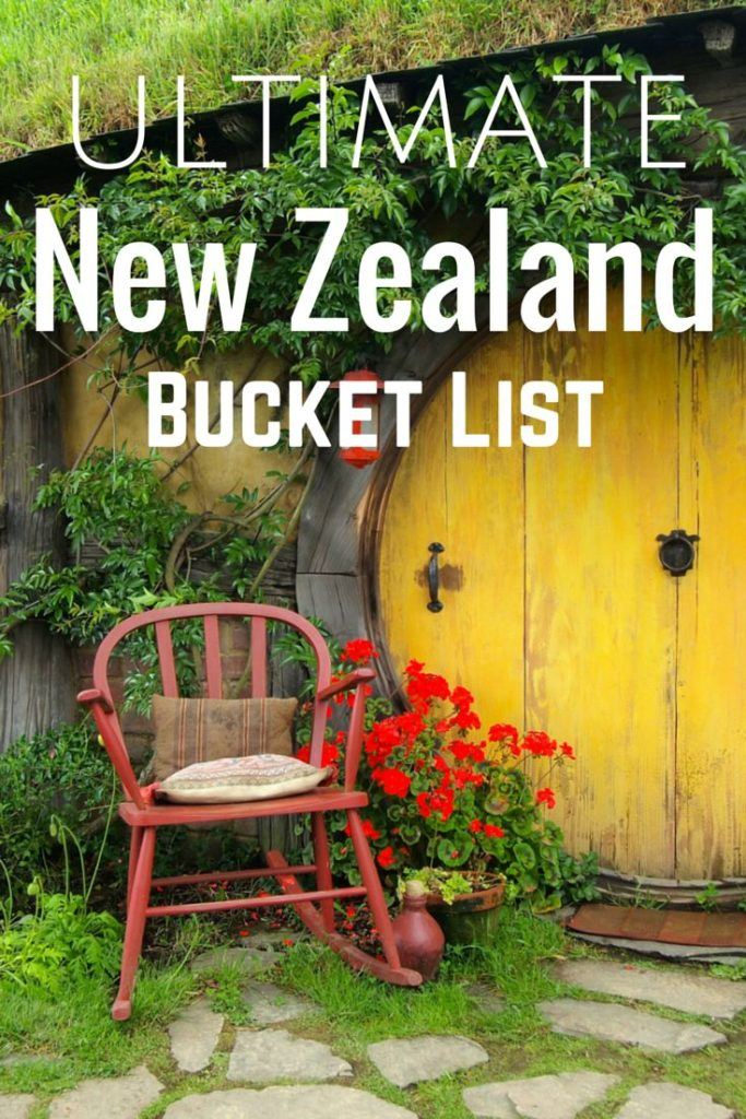 Ultimate New Zealand Bucket List