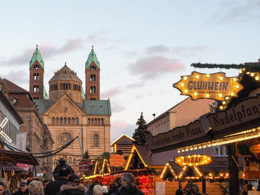 Christmas market in Speyer, Germany