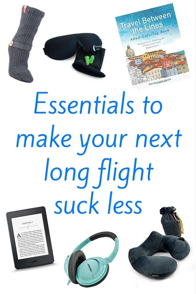 In-flight essentials to make long flights less awful