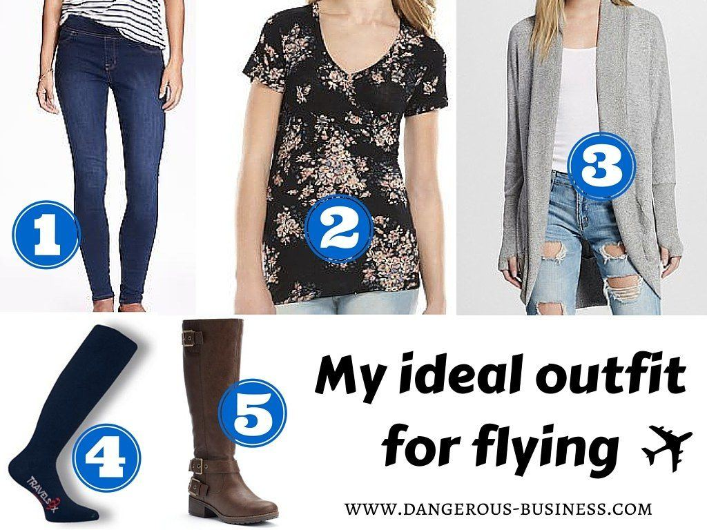 My ideal outfitfor flying