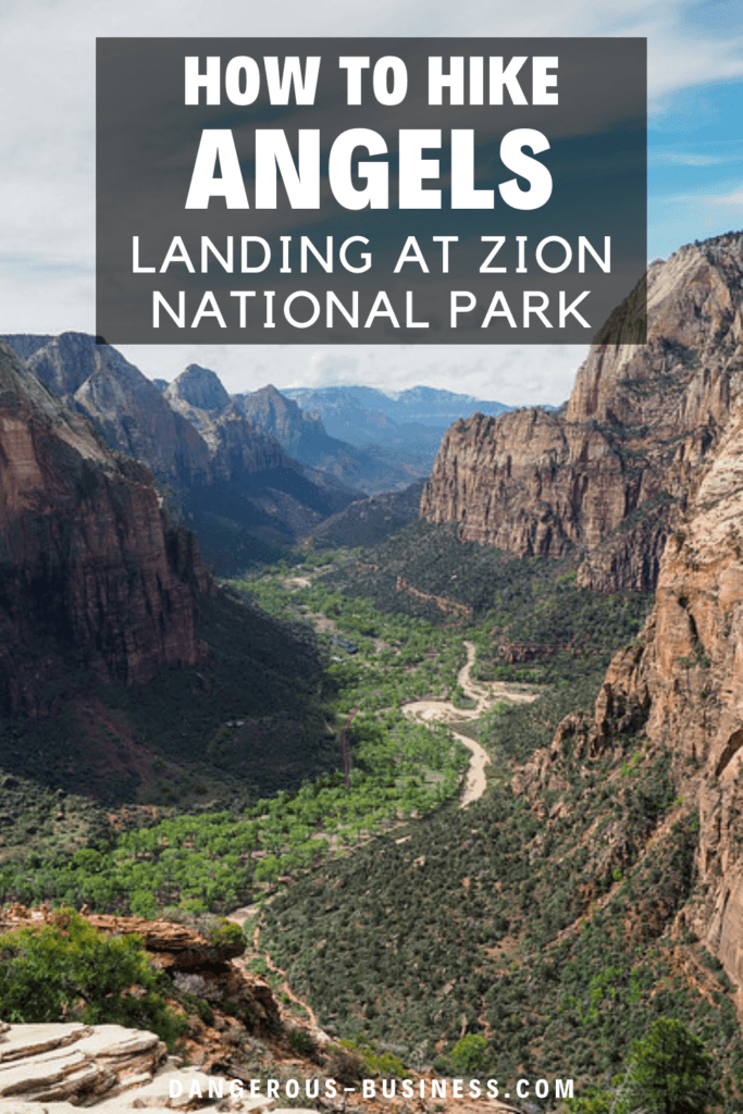 Tips for hiking to Angels Landing
