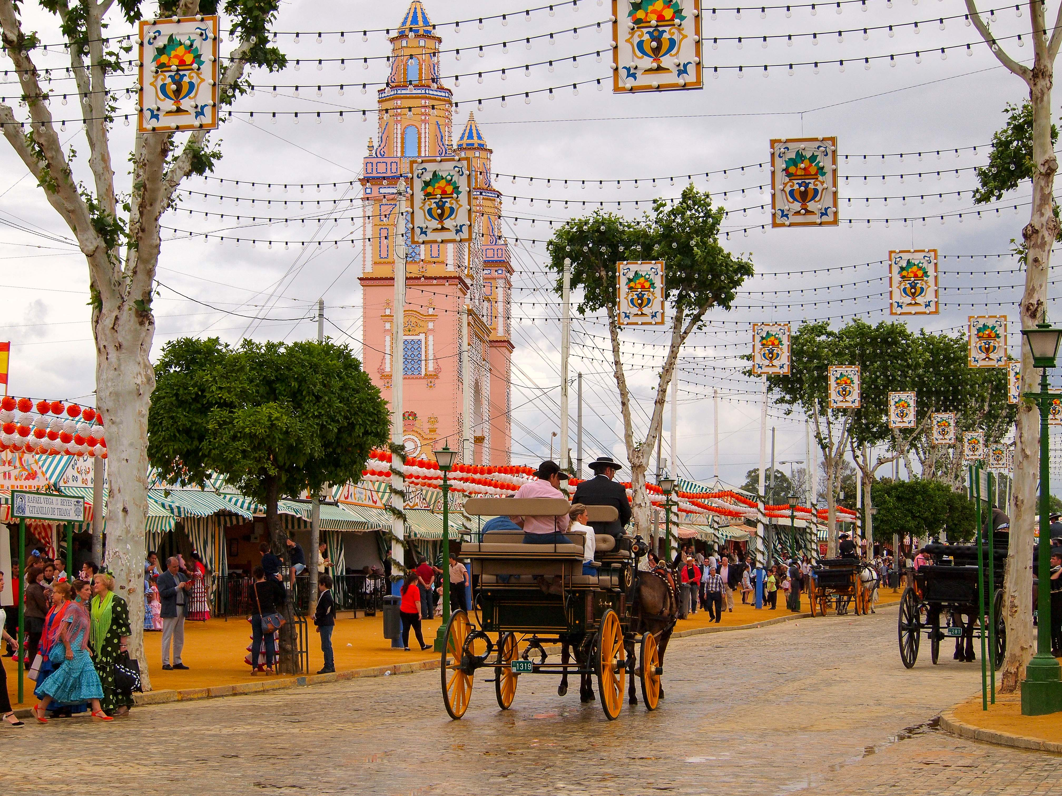 Tips for visiting the Seville Feria de Abril