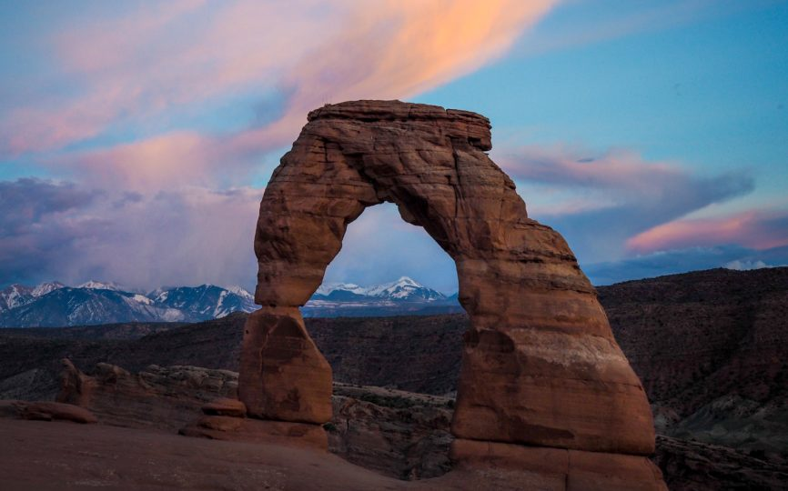Iconic Utah: Hiking to Delicate Arch at Sunset