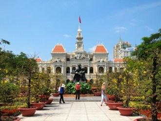 City Hall in Ho Chi Minh City Vietnam
