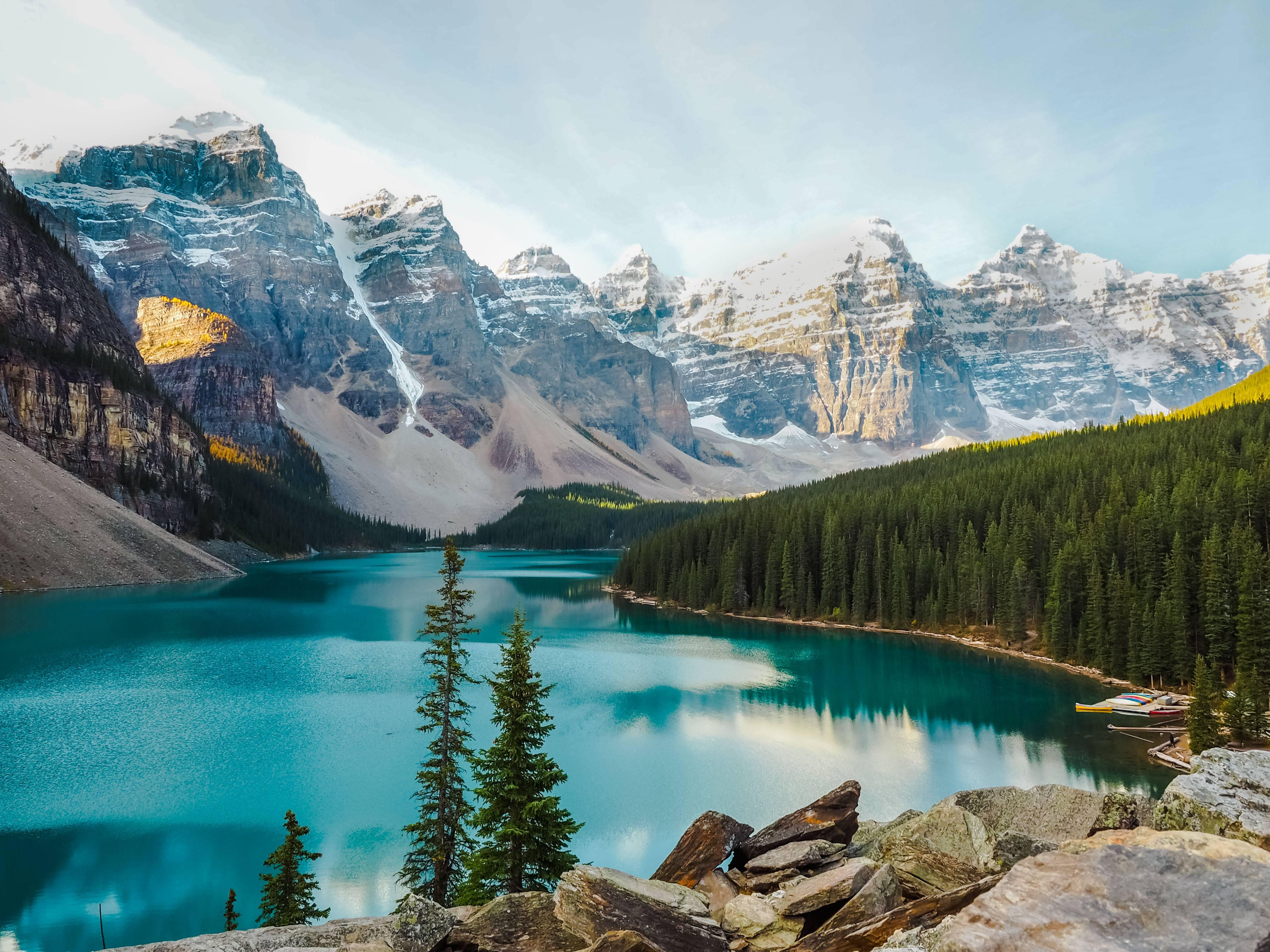 Moraine Lake in Alberta