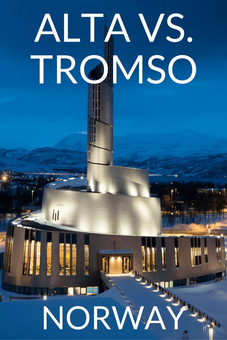 Alta vs. Tromso in Northern Norway