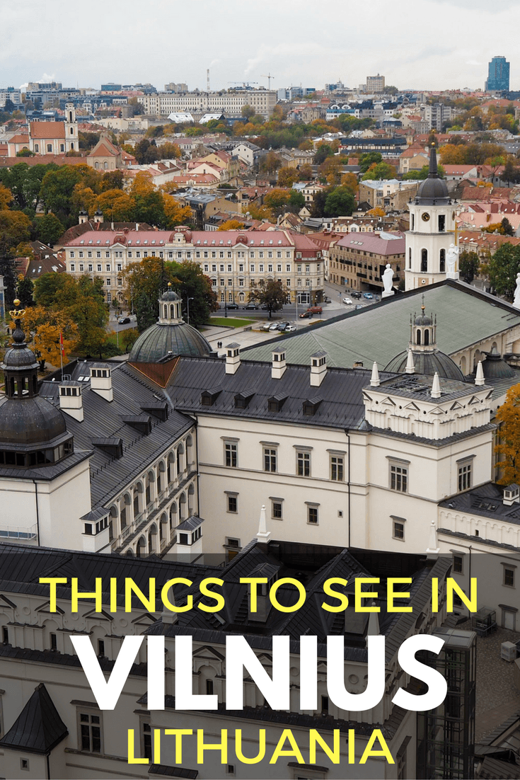 Things to see in Vilnius, Lithuania