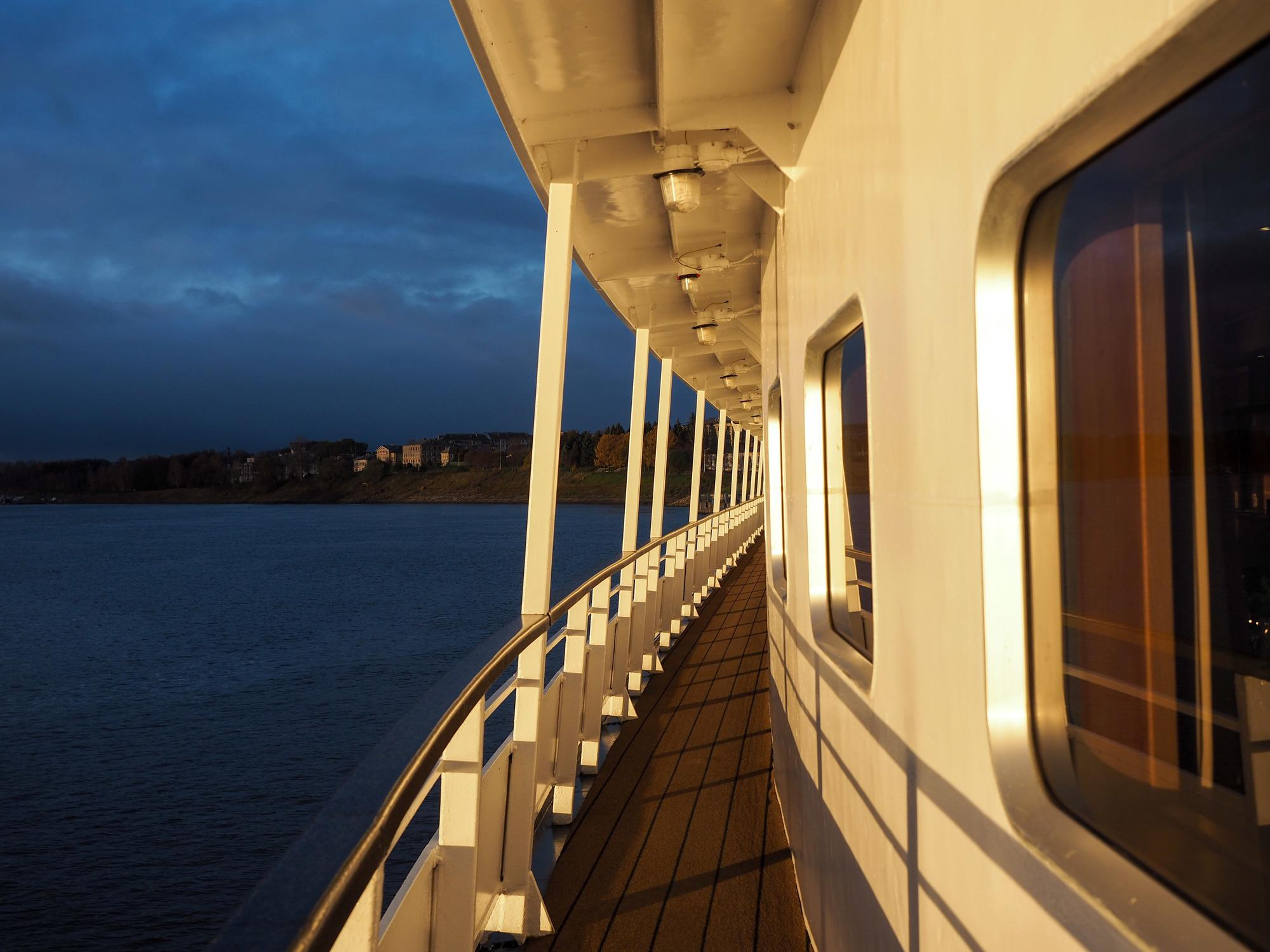 Viking Akun on the Volga River in Russia