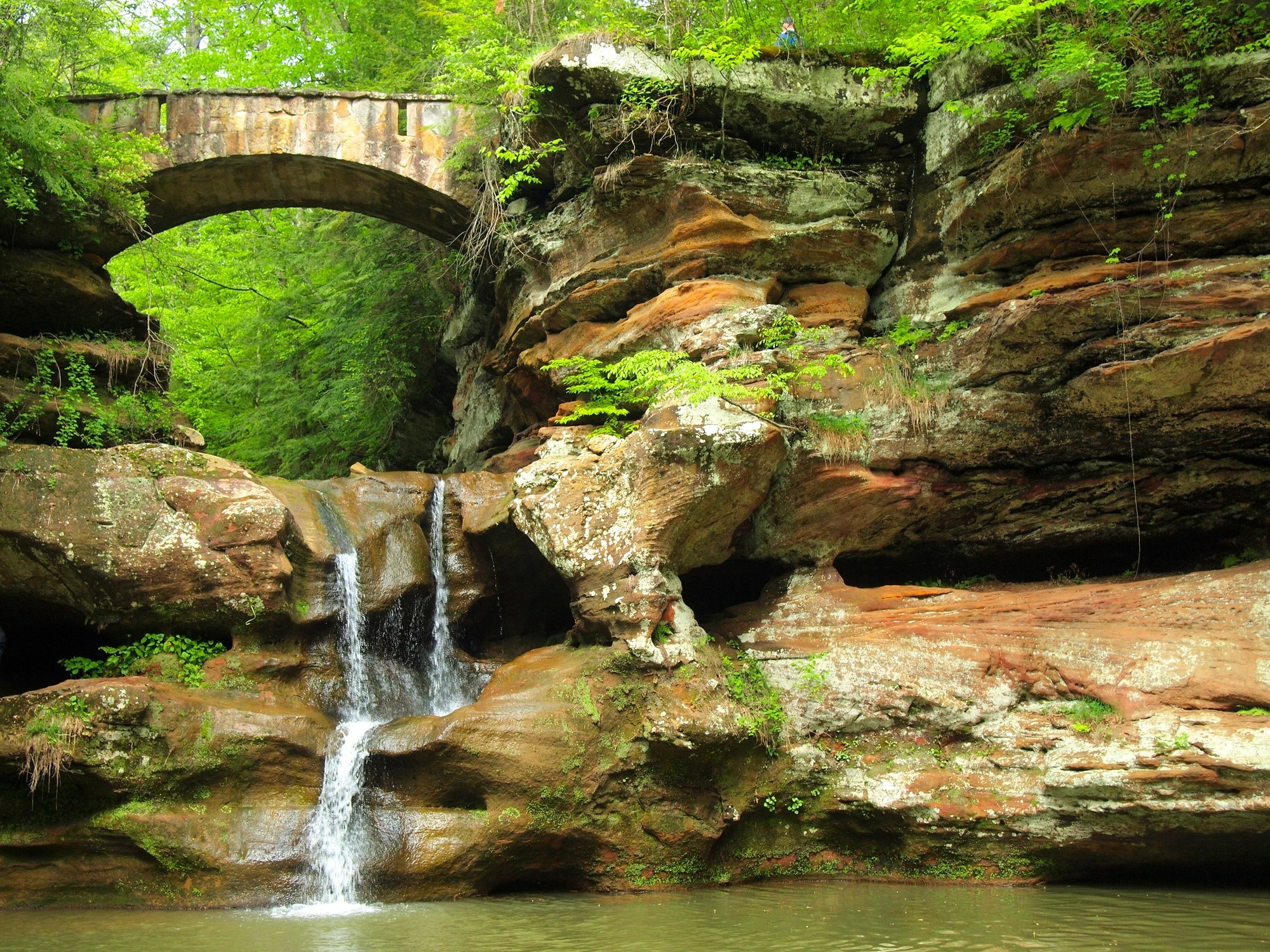 Upper Falls at Hocking Hills State Park
