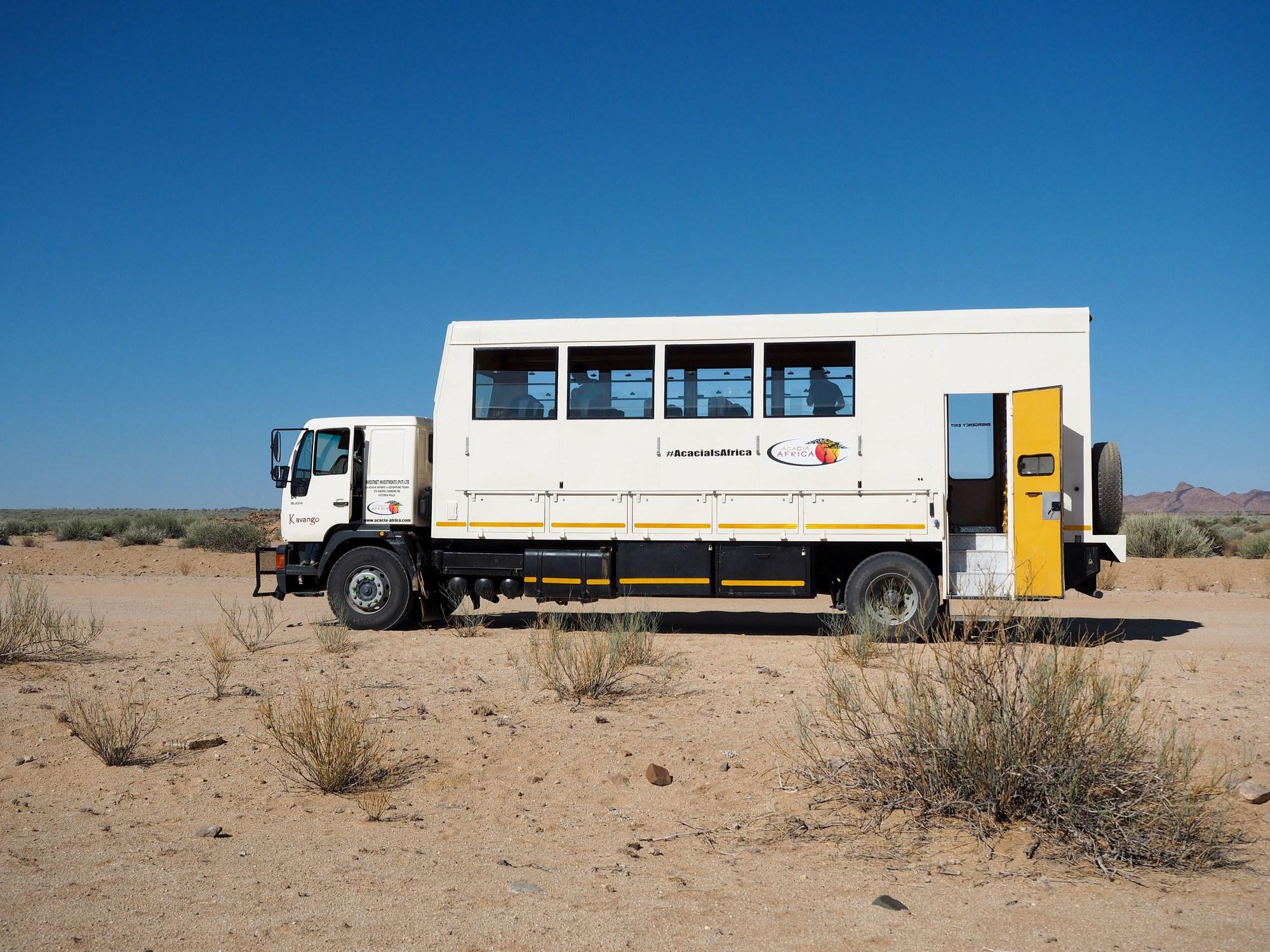 Overlanding in Africa