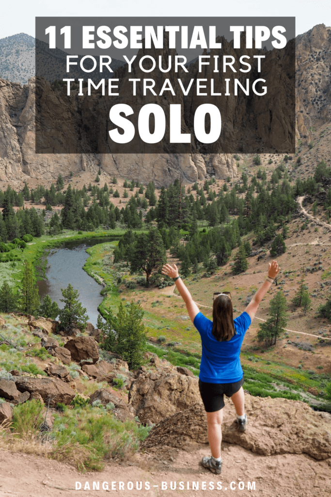 Tips to help on your first solo trip