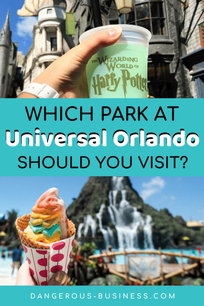 Which park to visit at Universal Orlando