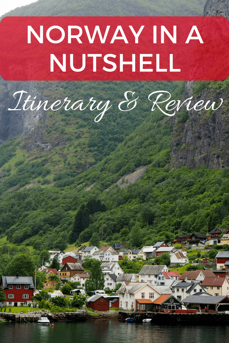 Norway in a Nutshell tour itinerary and review