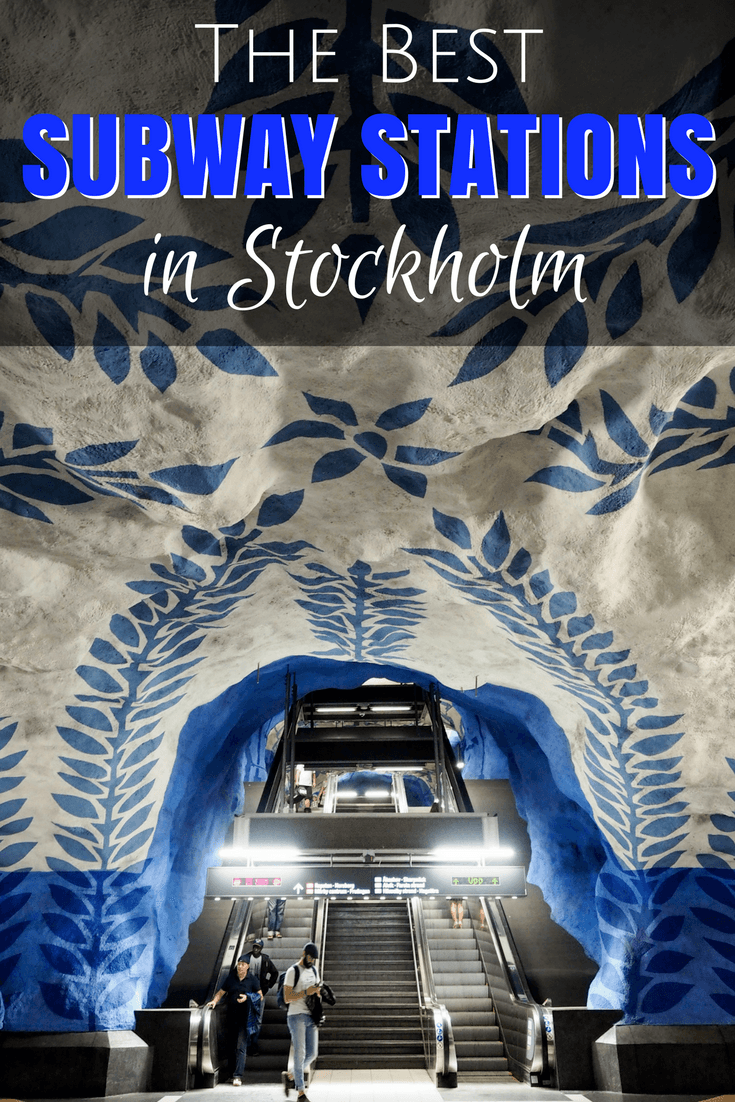 The best subway stations in Stockholm