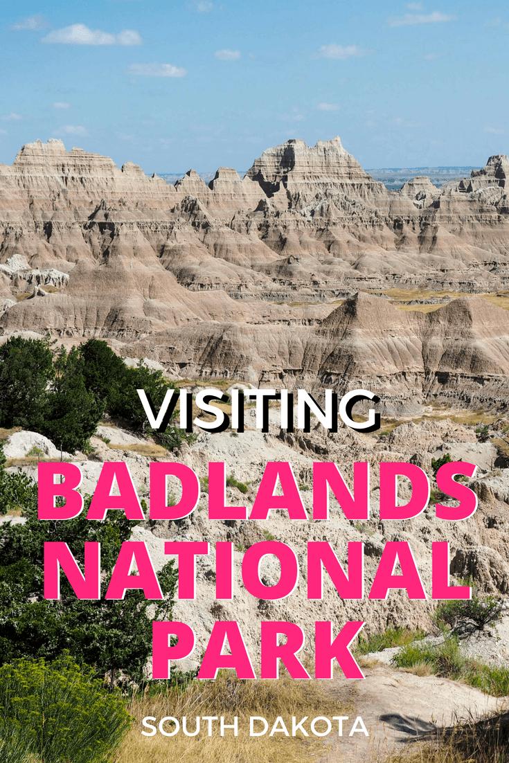 Visiting Badlands National Park in South Dakota