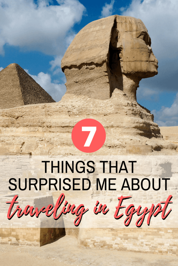 Things that surprised me about traveling in Egypt